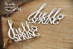 Gentle Sunlight - Hello Spring - napis x2