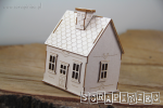 Tiny Family house 03 3D - Mikro Domek 03 3D (do boxa 10cm)