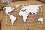 Travel the world - Map XL - mapa XL