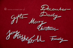 Brush art script - Merry