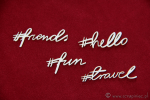 Brush art script - #friends