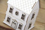 Tiny Family house 3D - Mikro Domek rodzinny 3D (do boxa 10cm)