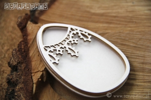 Tatting Easter - Shaker box Jajo 03