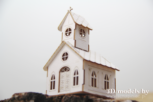 Mini church - mini kościół 8,3 cm