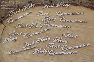 First Holy Communion 02 8 pcs  - zestaw  8 szt ENG