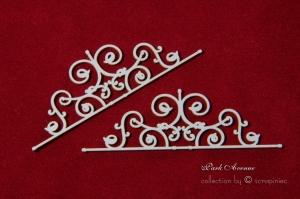 Bordery ornamentowe 01 - Park Avenue ornamental borders 01