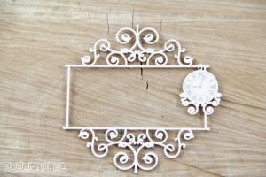 Ramka szyld zegar - Park Avenue sign frame clock