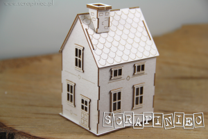 Tiny Family house 02 3D - Mikro Domek 02 3D (do boxa 10cm)