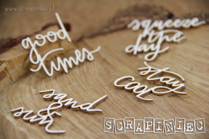 Beautiful Life - Stay cool - chipboards