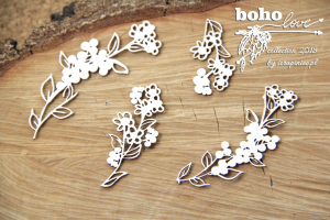 Boho Love - flowers 01 - kwiaty 01