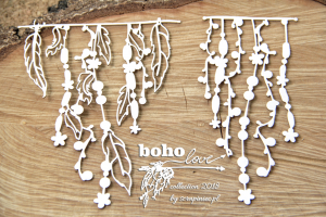 Boho Love - big garlands 01 - duże girlandy 01