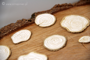 Magic Fall - False Wooden chips (chipboard)