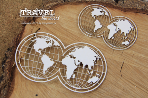 Travel the world - 2 globes - 2 globy