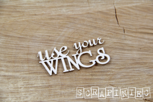 Use Your wings - napis